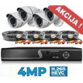 Vaizdo stebėjimo sistema 4MP.