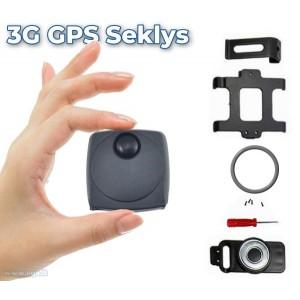 Kompaktiškas 3G GPS Seklys