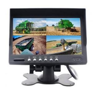 Video monitorius keturioms kameroms