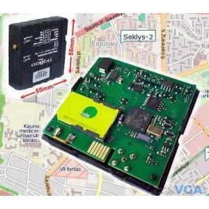 Profesionalus GPS Seklys
