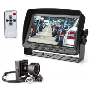 Video sistema dešiniavairiams automobiliams