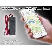 GPS Seklys montuojamas