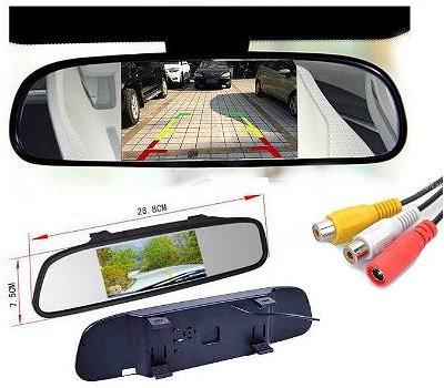 LCD Monitorius veidrodėlyje