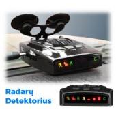 Antiradaras - radarų detektorius HQ - STR-535