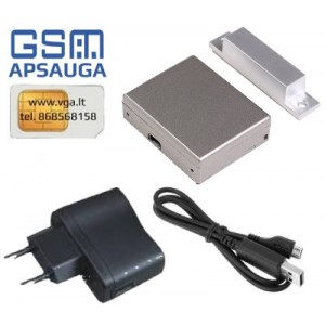 Belaidė GSM apsaugos sistema