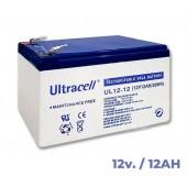 Akumuliatorius 12V 12Ah, Ultracell