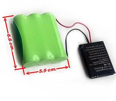 GPS Seklio baterija 3,7v. 6800 mAh