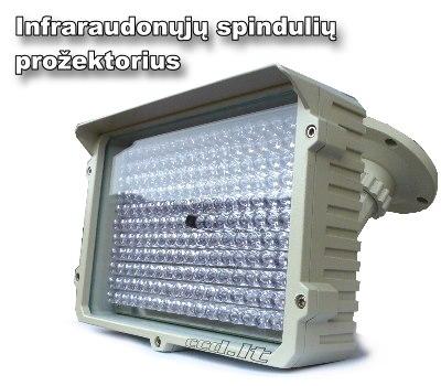 Infraraudonųjų spindulių prožektorius