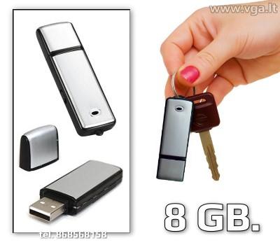 Diktofonas USB atmintinė - 8GB.