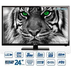 LED Televizorius FULL HD 61 cm