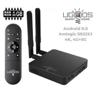 Android TV priedėlis Ugoos AM6 Plus