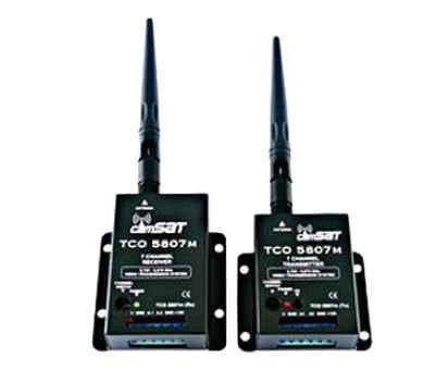 Belaidė vaizdo/garso perdavimo sistema