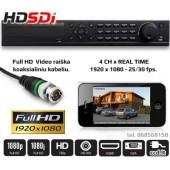 Vaizdo įrašymo įrenginys 4 x FULL HD