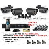 HD-SDi Vaizdo Stebėjimo Sistema