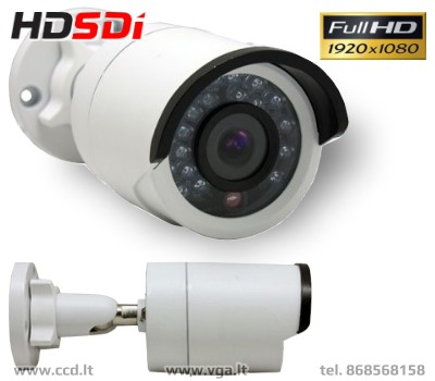 HD-SDi Stebėjimo kamera 20m