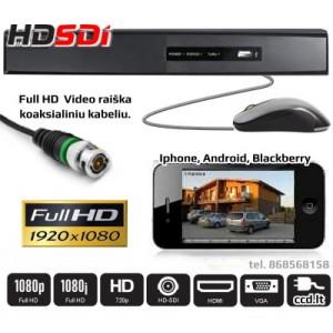 Full HD Vaizdo Įrašymo Įrenginys