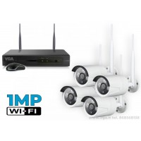 Belaidė vaizdo stebėjimo sistema W1MP4