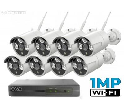 Belaidė vaizdo stebėjimo sistema W1MP8