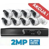 Vaizdo stebėjimo sistema 2MP - 8CH