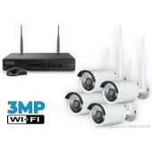 Belaidė vaizdo stebėjimo sistema W3MP4