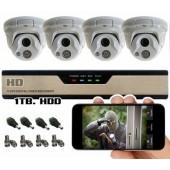 Vaizdo stebėjimo sistema HD4
