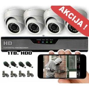 Vaizdo stebėjimo sistema HD8