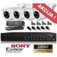 Vaizdo stebėjimo sistema UHD10