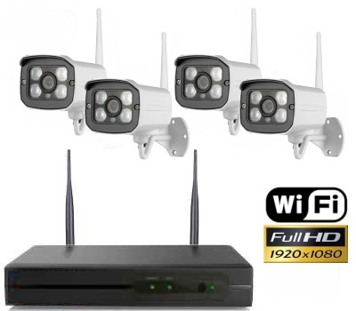 Belaidė vaizdo stebėjimo sistema WHD6
