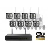 Belaidė vaizdo stebėjimo sistema WHD8