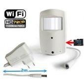 Slapta kamera - judesio daviklyje - WiFi