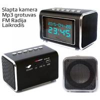 Kamera - Radijas su Laikrodžiu