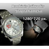 Rankinis laikrodis -720P kamera