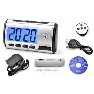 Slapta Kamera LCD laikrodyje