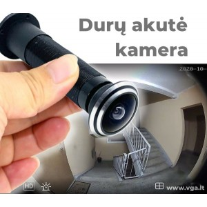 Kamera durų akutėje su judesio detekcija