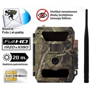 Automatinė kamera medžioklei 3.5CG