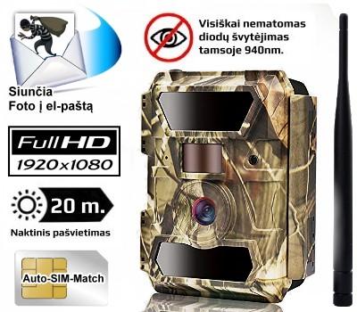 Automatinė kamera medžioklei 3G - PIE1023