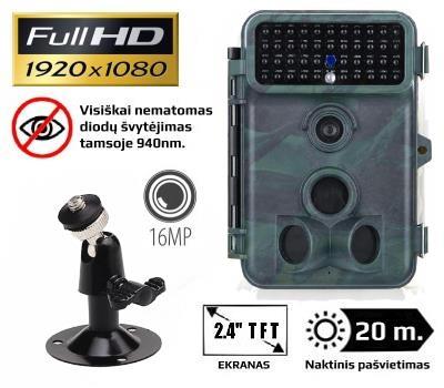 Automatinė kamera medžioklei 16MP