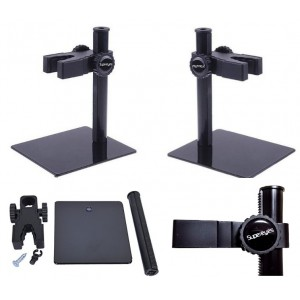 Stovas USB Mikroskopui