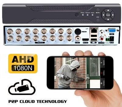 AHD vaizdo įrašymo įrenginys 16CH