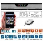 4-kanalų vaizdo įrašymo įrenginys 960H
