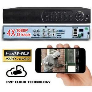 AHD-H vaizdo įrašymo įrenginys 4-CH