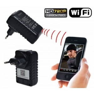 Slapta Kamera kroviklyje su WiFi